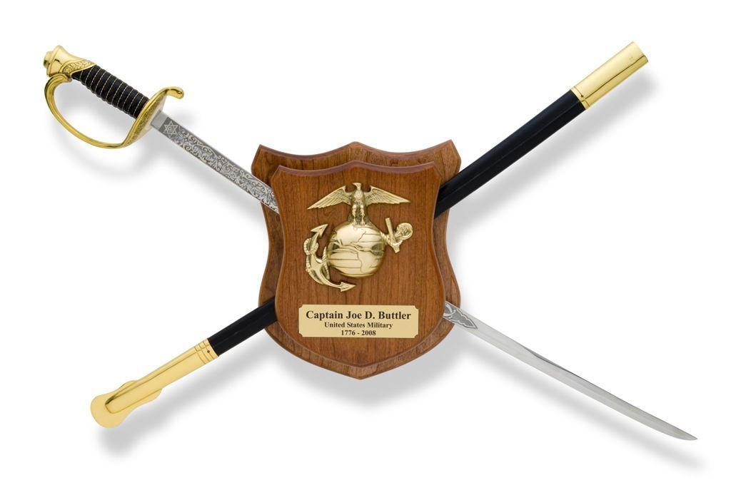 marine sword holder | Military Swords, Military Sword ...