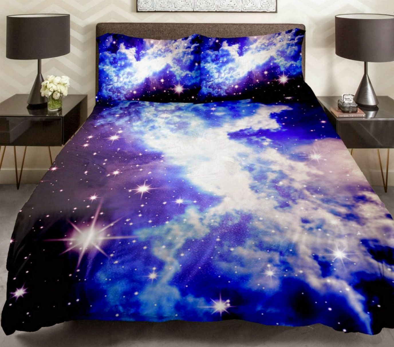 78 Galaxy Themed Bedroom