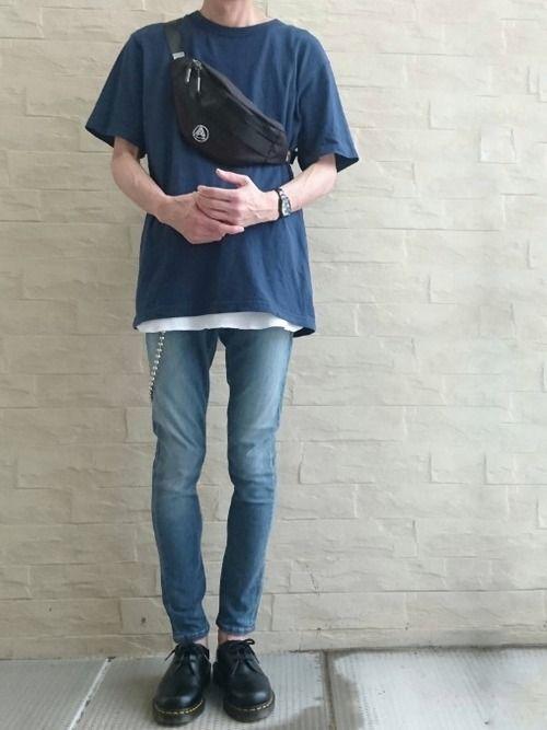 35a78c5adc45 中村氏|ユニクロのTシャツ・カットソーを使ったコーディネート | U L Z Z A N G B O Y | How to wear、Bags、Tote  Bag