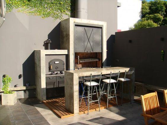 Ideas de dise os para asadores patios - Ideas para patios ...