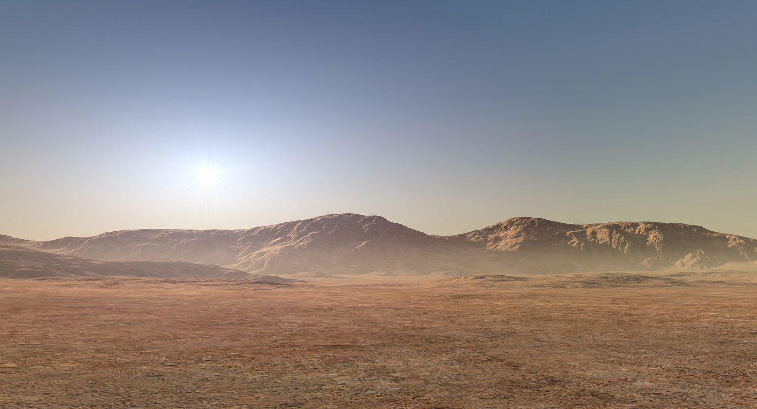 3d Desert Mountain Range Model Desert Mountains Mountain Range 3d Landscape