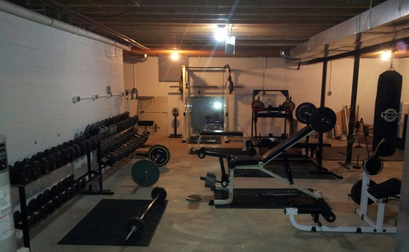 Show us your home gym crypted molesting chambers home gym