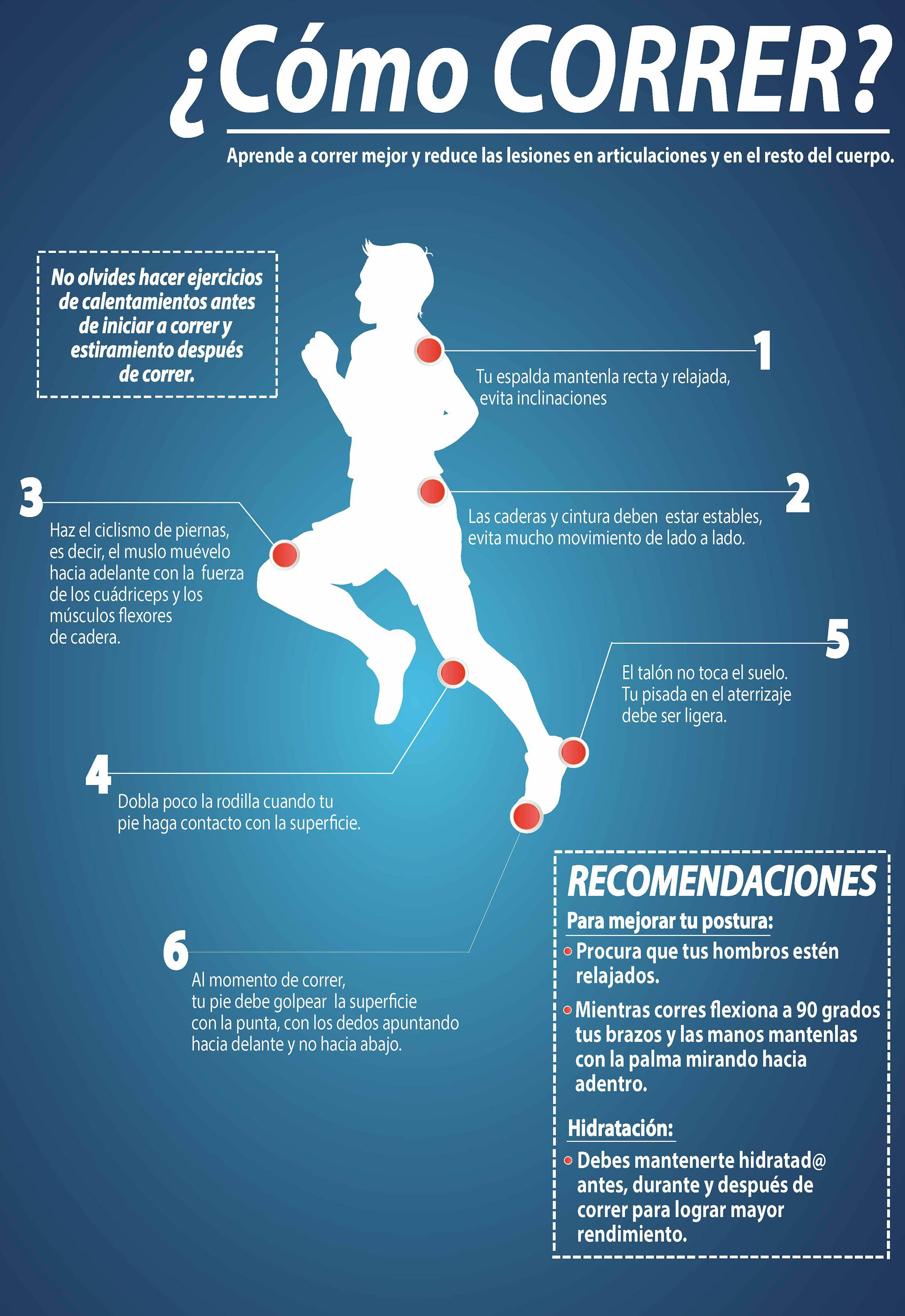 Cómo correr? - Investigación y Desarrollo | Correr | Pinterest ...