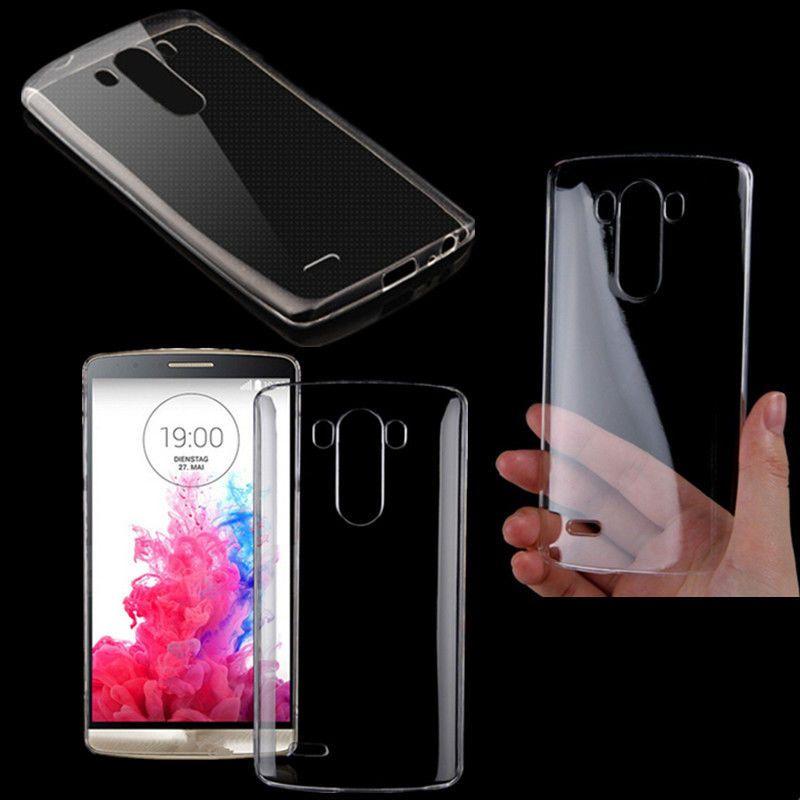 New Transparent Crystal Clear Hard Back Cover Case Skin For LG G3 D850 D855 #UnbrandedGeneric