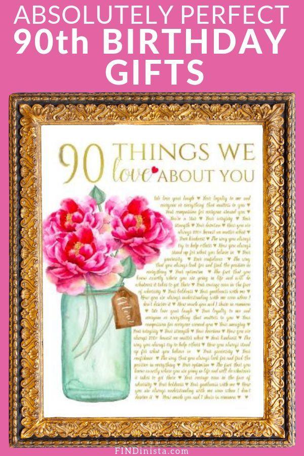 170 90th Birthday Gifts Ideas 90th Birthday Gifts 90th Birthday Birthday Gifts