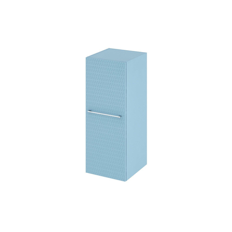Meuble Demi Colonne L 45 X H 115 X P 46 8 Cm Bleu Remix Meuble Des Colonnes Et Bleu