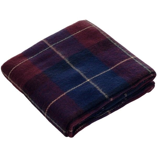 Bedford Home Throw Blanket, Cashmere-Like, Blue/Red (41 CAD) ❤ liked on Polyvore featuring home, bed & bath, bedding, blankets, cashmere throw, blue throw blanket, red bedding, cashmere blanket throw and red throw blanket
