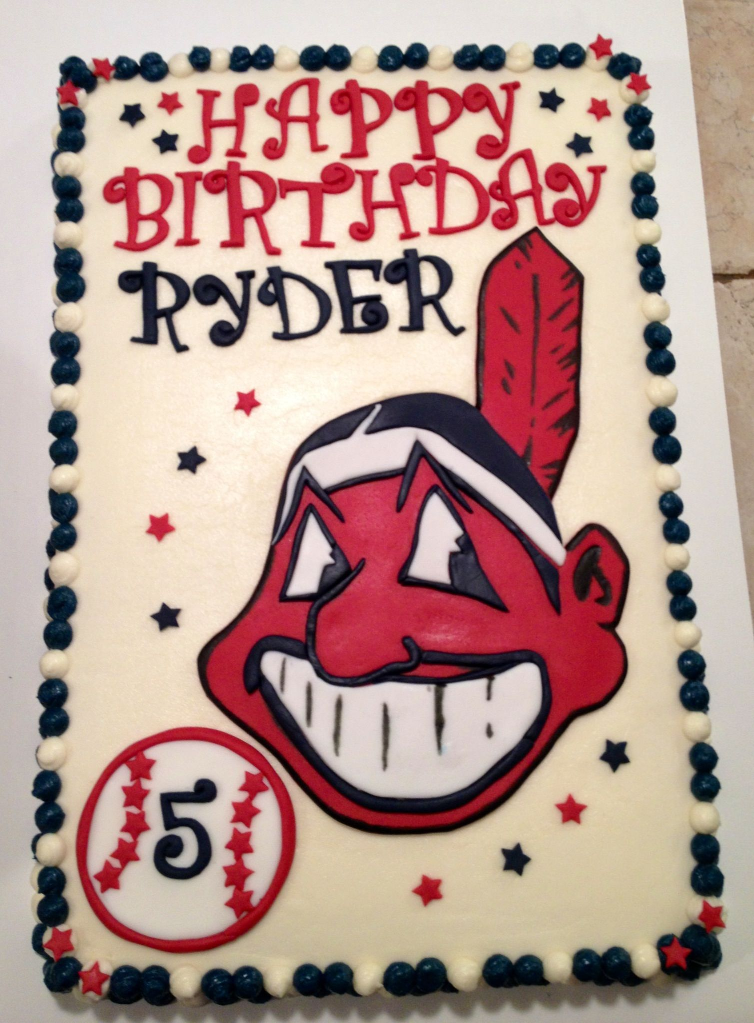Cleveland Indians Cake Indian Birthday Parties 8th Ideas Clevland