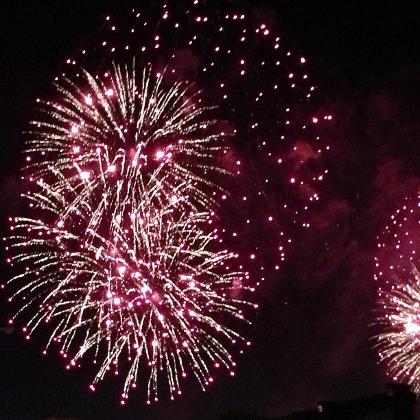 June 29, 2013 Celebrated on Ft. Benning  (Note, this photo isn't from Ft. Benning's fireworks!)