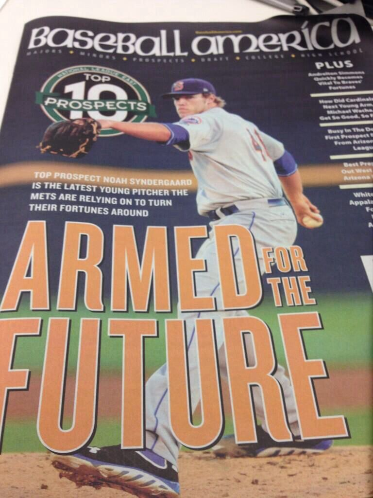 Noah Syndergaard The arm of the future? New york mets