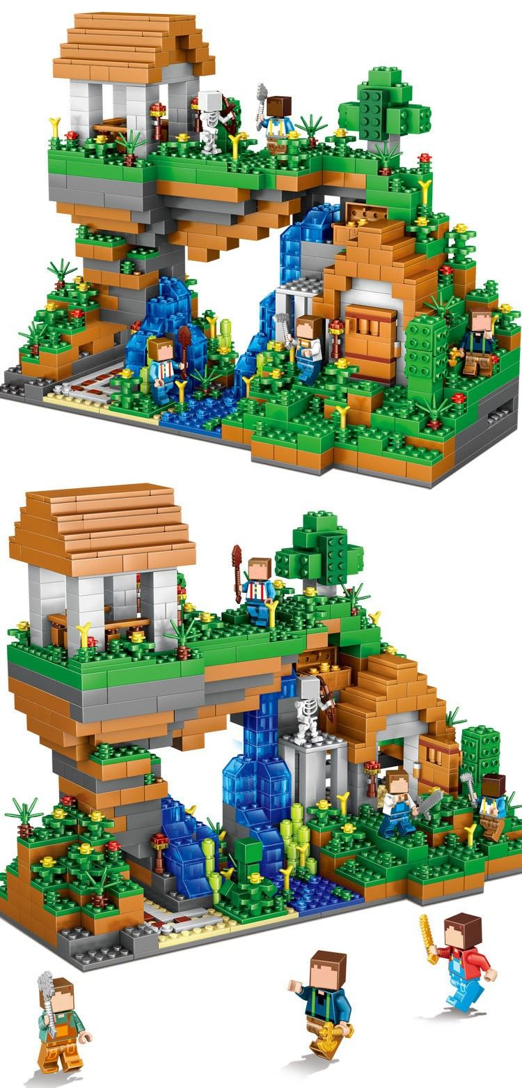 20161209 140453 001 lego cie pinterest l go for Modele maison minecraft