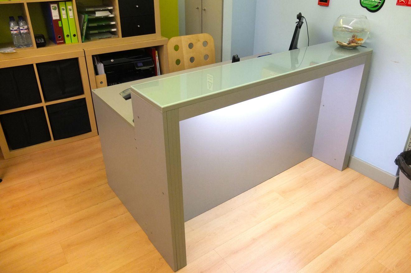 Diy Building A Reception Desk Ikea Reception Desk Reception