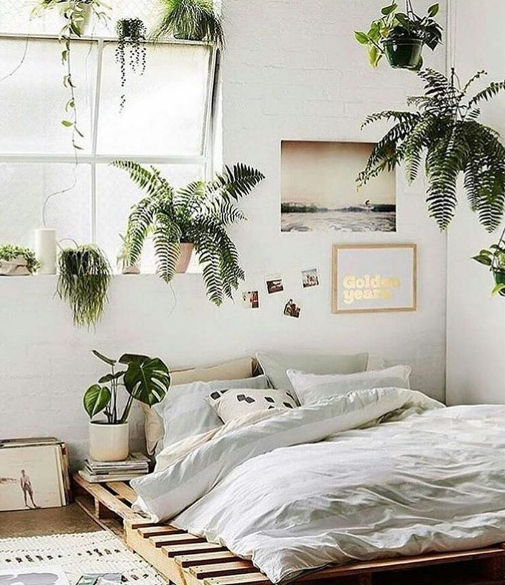 45 inspiring plants ideas in bedroom decor | minimalist