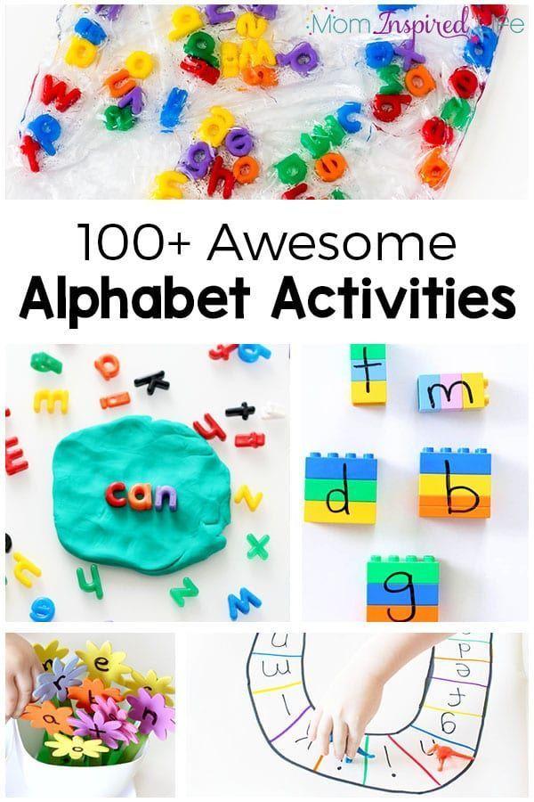 100 Alphabet Activities That Kids Love Alphabet Activities Kindergarten Alphabet Activities Alphabet Activities Preschool Fun alphabet games for kindergarten