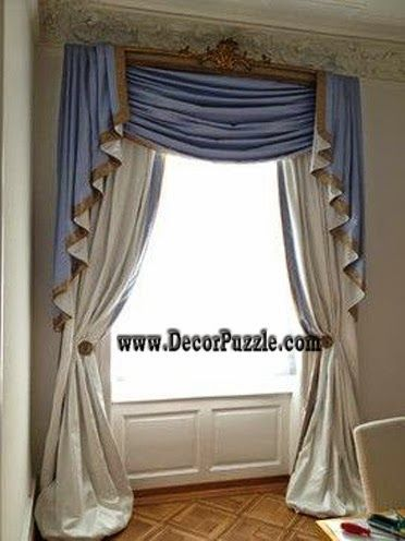 Luxury Royal Curtains, Curtain Designs Styles 2017