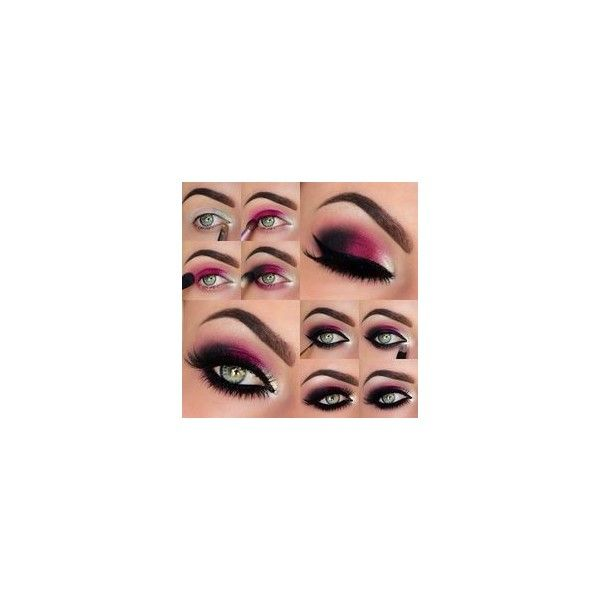 Black eye makeup ❤ liked on Polyvore featuring beauty products, makeup and eye makeup