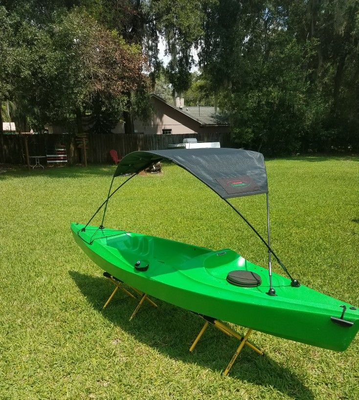 Sunshade for any size kayak! Keep COOL and PADDLE on