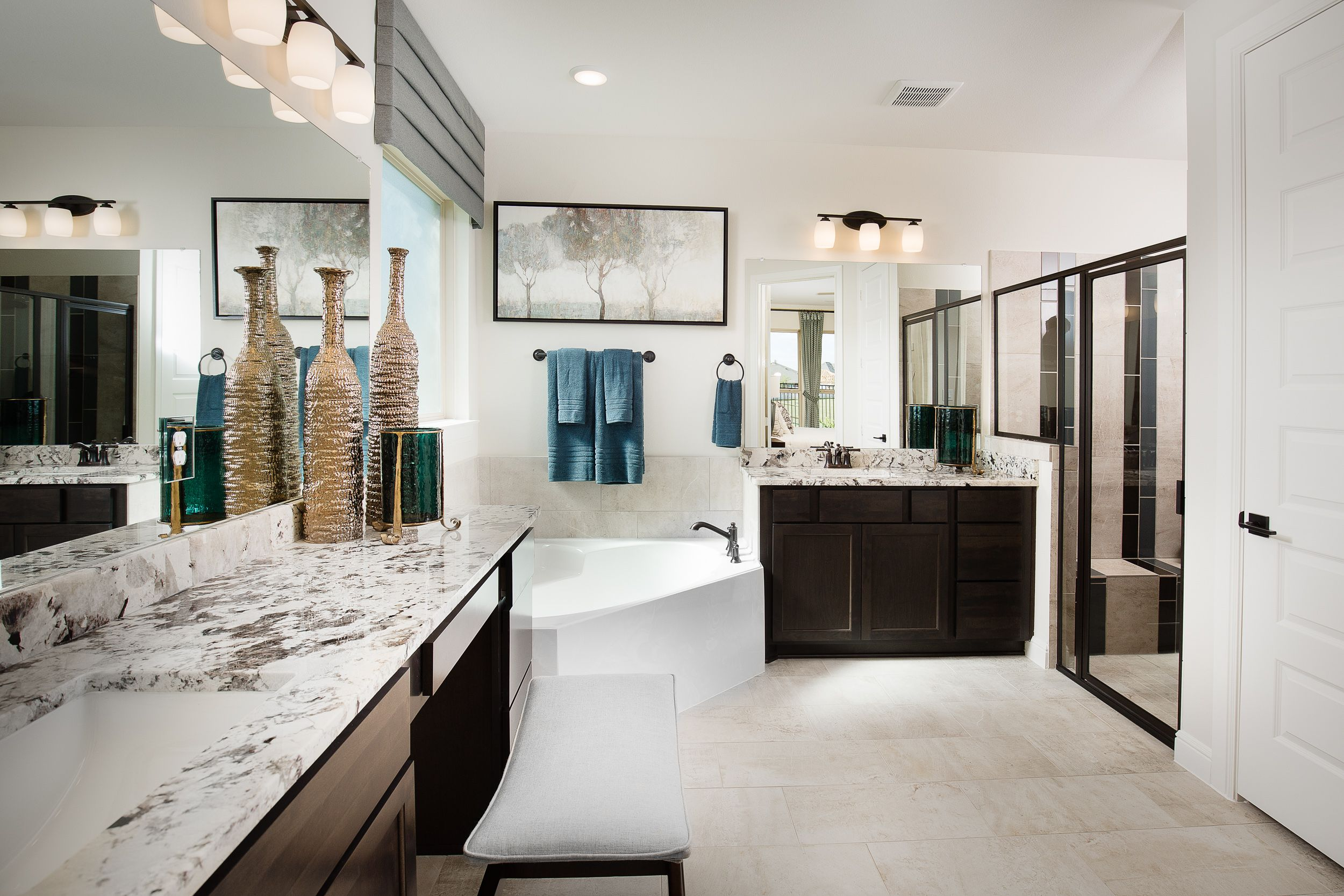 Model at Cane Islands. Houston Texas NewHome