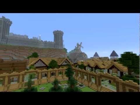 minecraft survival games map   Survival Kingdom - Minecraft Survival ...