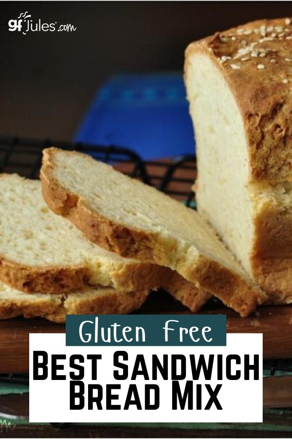Gfjules Gluten Free Sandwich Bread Mix In 2020 Gluten Free Sandwich Bread Recipe Sandwich Bread Gluten Free Sandwich Bread