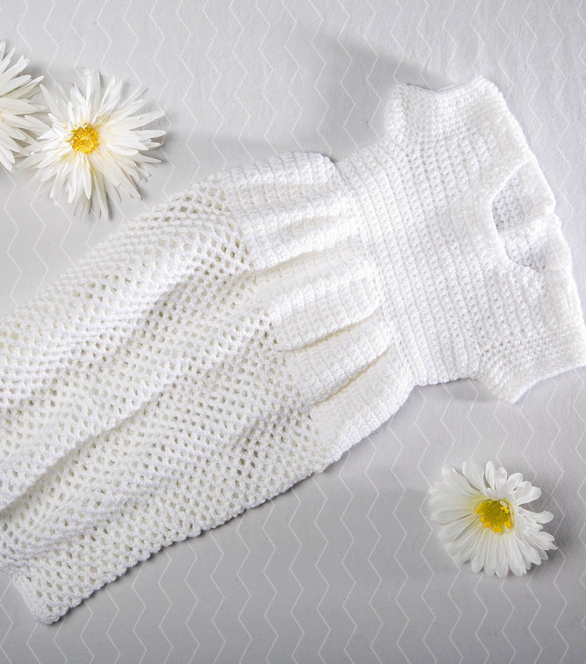Free Easy To Crochet Christening Gown Pattern Christening Gowns