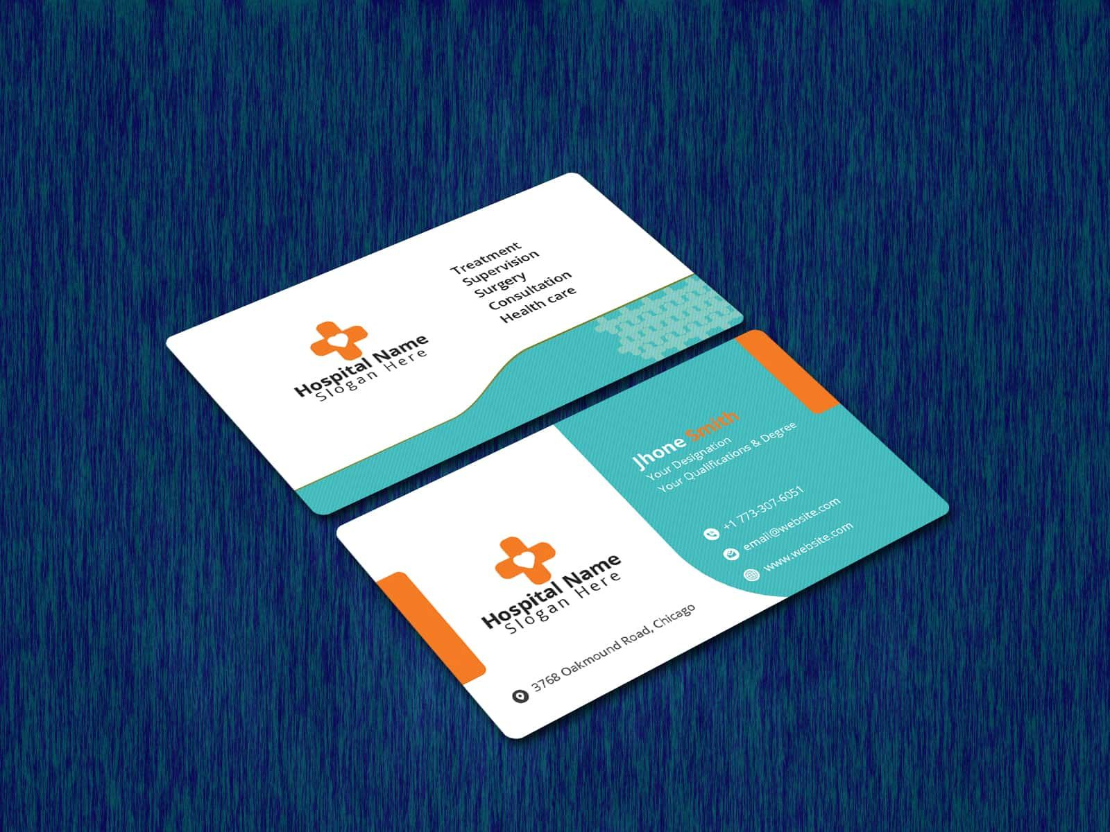 Medical Health Care Business Card Medical Business Card Medical Health Care Health Business