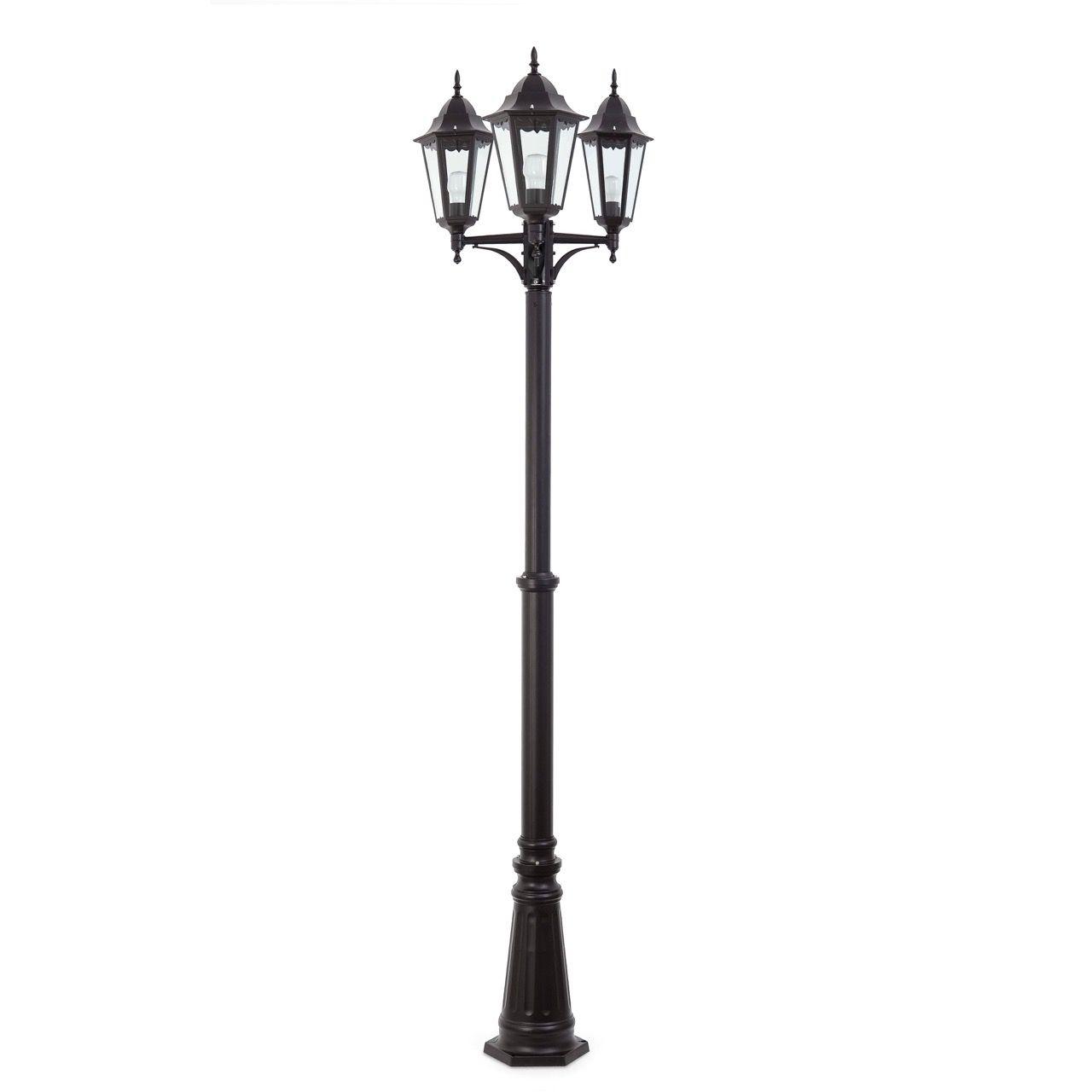 Farola de tres luces para exteriores #jardin #farola #iluminacion #decoracion #verano