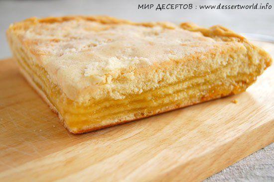 рецепт лимонного пирога как в бахетле