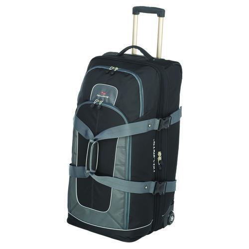 High Sierra No Limits 32 Drop Bottom Rolling Duffel Bag Duffel Bag Duffel Luggage