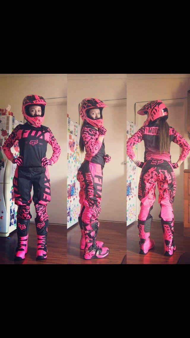 9c8670991da Motocross rose girl | Riding | Motocross bikes, Dirt bike gear, Dirt ...