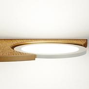 LG Display OLED Panel Wall Lamp Design