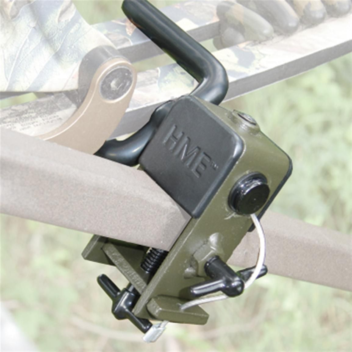 Hme Universal Mount Bow Holder 215810 Tree Stand Accessories At Sportsman S Guide Bow Holder Tree Stand Accessories Bows