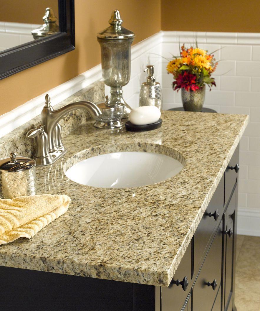 Natural Granite Bathroom Vanity Tops