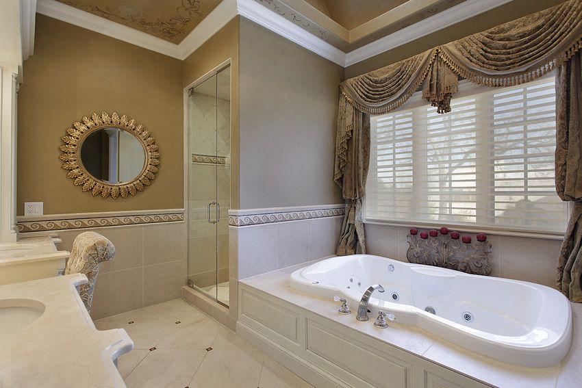 60 Luxury Custom Bathroom Designs & Tile Ideas | Pinterest | Jetted ...