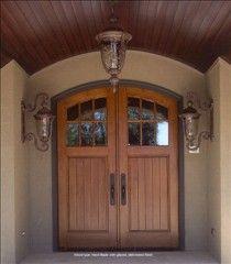 craftsman double front door. Craftsman Style Wood Double Entry Door. Front Door I