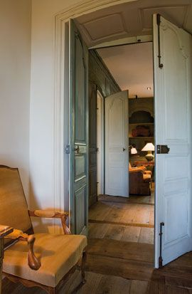 i want to re purpose antique doors and use modern made hardware