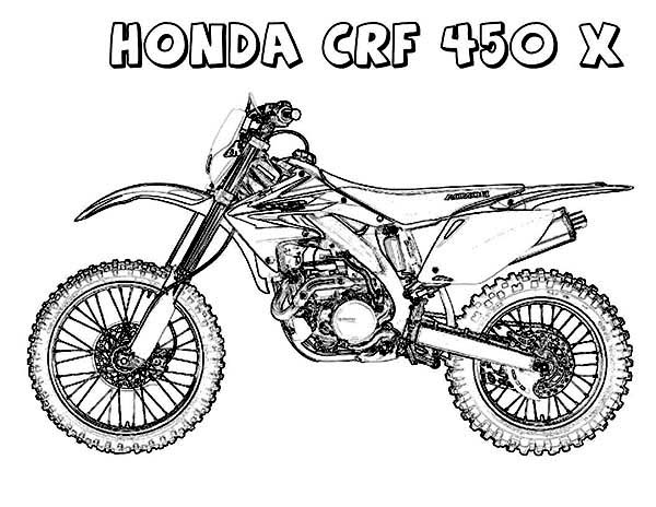 Pin On Dirt Bike Coloring Pages