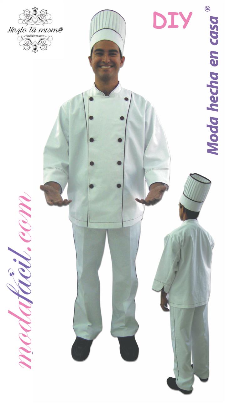 Descarga Gratis el patron de la chaquta filipina para chef de cocina ...