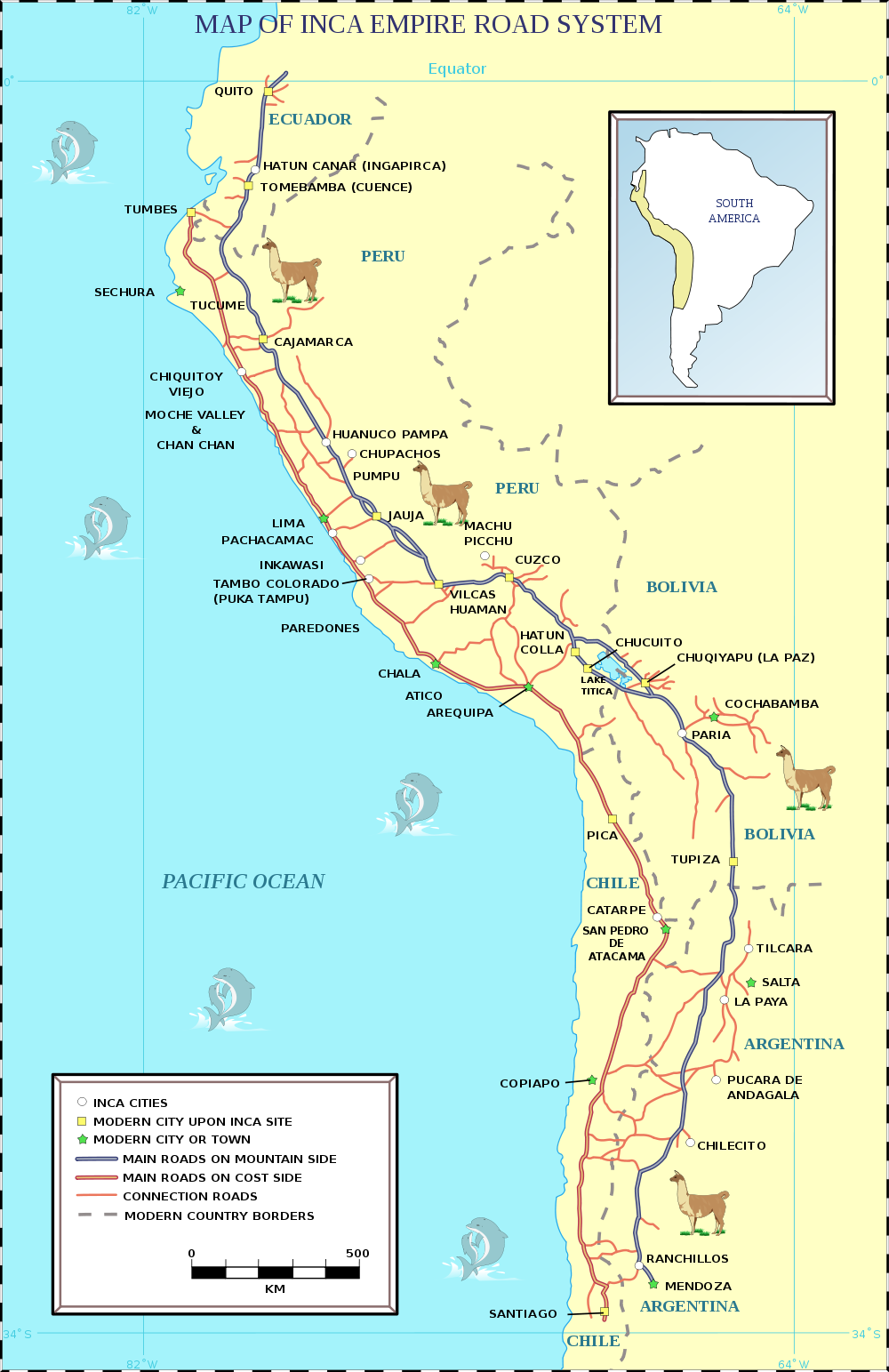 Map of the Ancient Inca Empire Road System. Mystery of ... Inca Empire Map Roads on greece map, inca warriors, lima map, inca city, inca buildings, inca pyramids, inca people, inca roads, chimu map, inca civilization, brazil map, tenochtitlan map, inca houses, inca trail, mesoamerica map, inca food, china map, inca crops, inca art, inca flag,