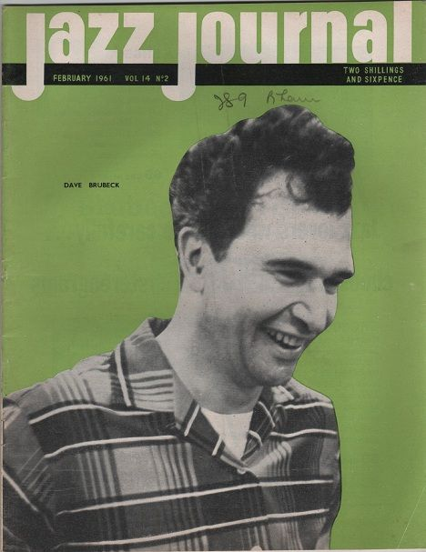 jazz journal, february 1961, dave brubeck | Let There Be