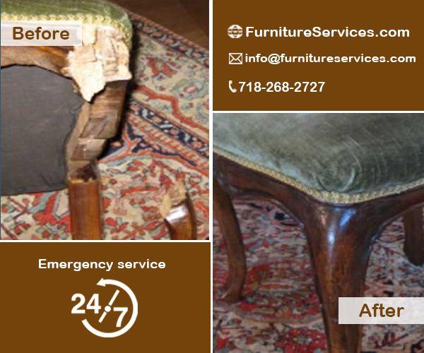 Antique chair leg repair NY, New York, NJ, New Jersey, CT, - Antique Chair Leg Repair NY, New York, NJ, New Jersey, CT