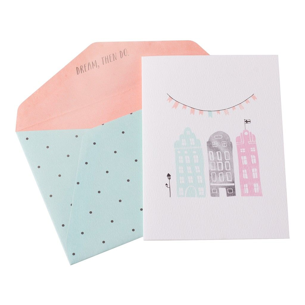 This sweet greeting card is the perfect choice to celebrate a