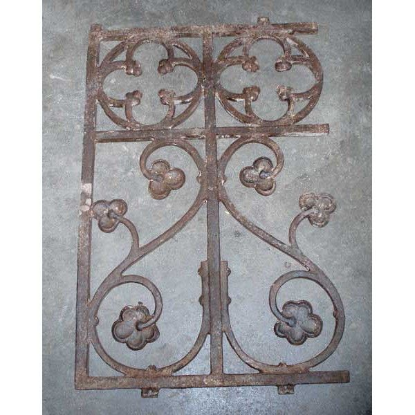 Best English Gothic Revival Cast Iron Railing 43 Available In 400 x 300
