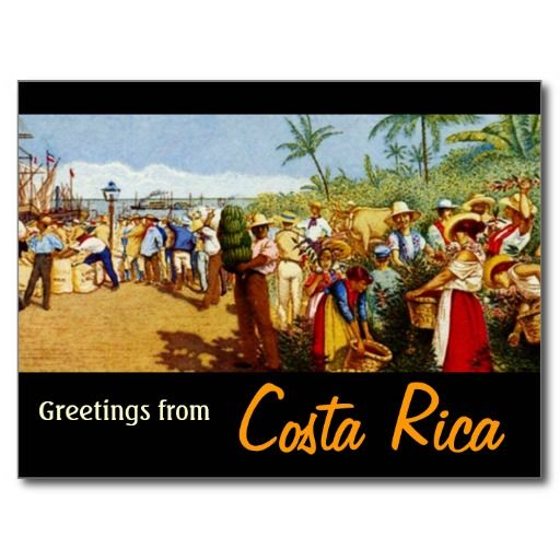 Old costa rican painting postcard costa rican wedding vintage costa rican postcards old costa rican painting postcard zazzle m4hsunfo