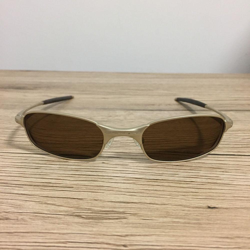 62112a3f250a9 Oakley Square Wire 2.0 Prescription Sunglasses Platinum T34 11-524 Brown  Lenses