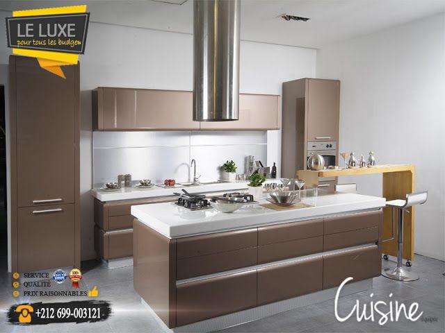 Cuisine quip e design et moderne ou sur mesure rabat for Cuisine equipee et electromenager