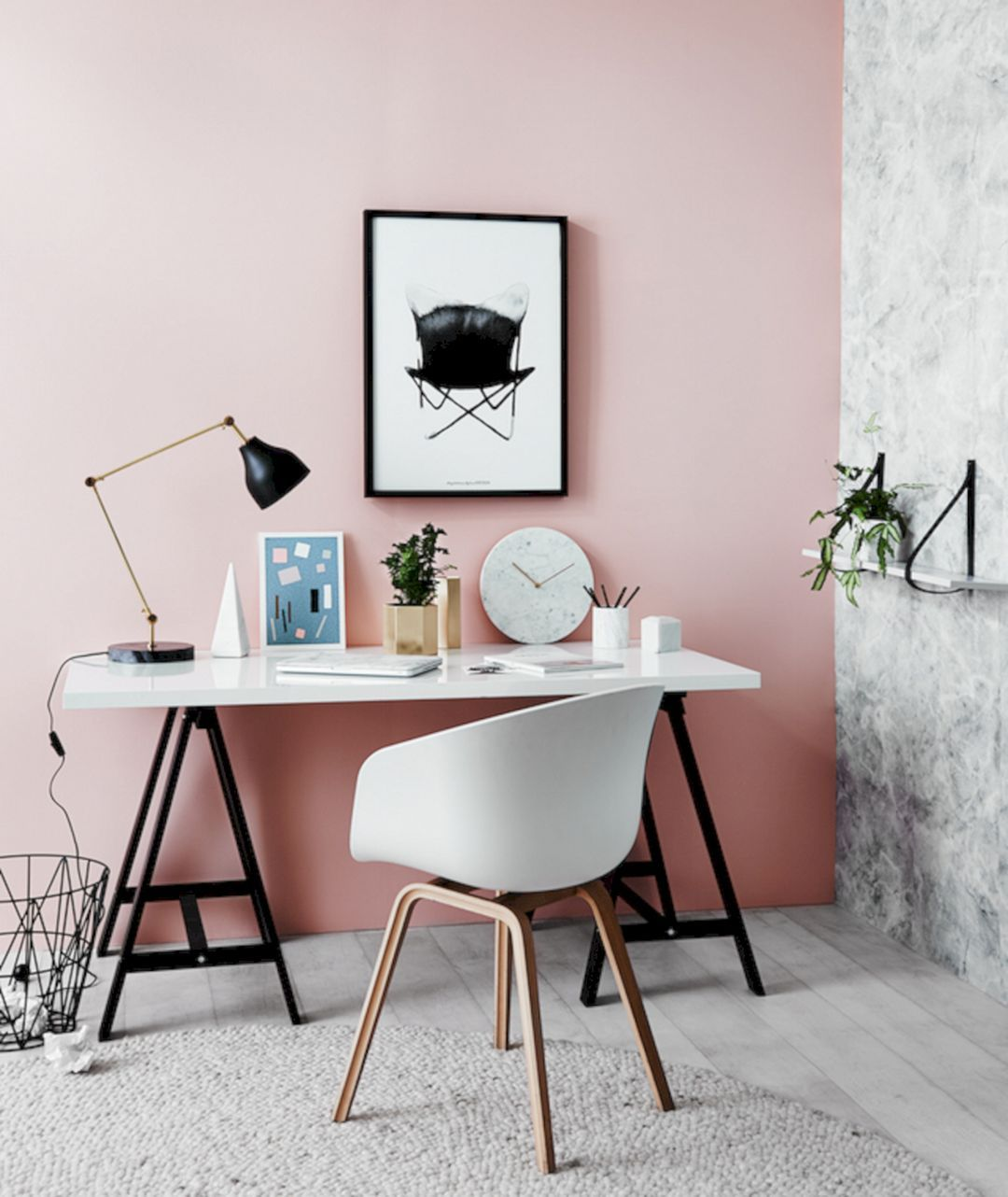 romantic decor home office. 25+ Most Romantic Pink Home Offices Color Scheme Ideas Decor Office C