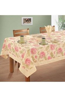 Swayam Cotton Table Sheet For 6 Seater Table Covers Tablecloths