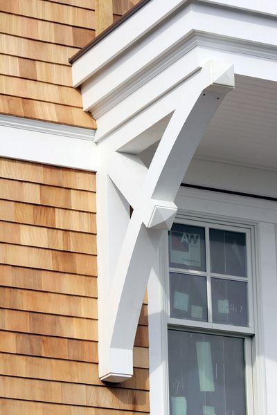 Pvc brackets craftsman brackets bungalow details for Craftsman corbels exterior