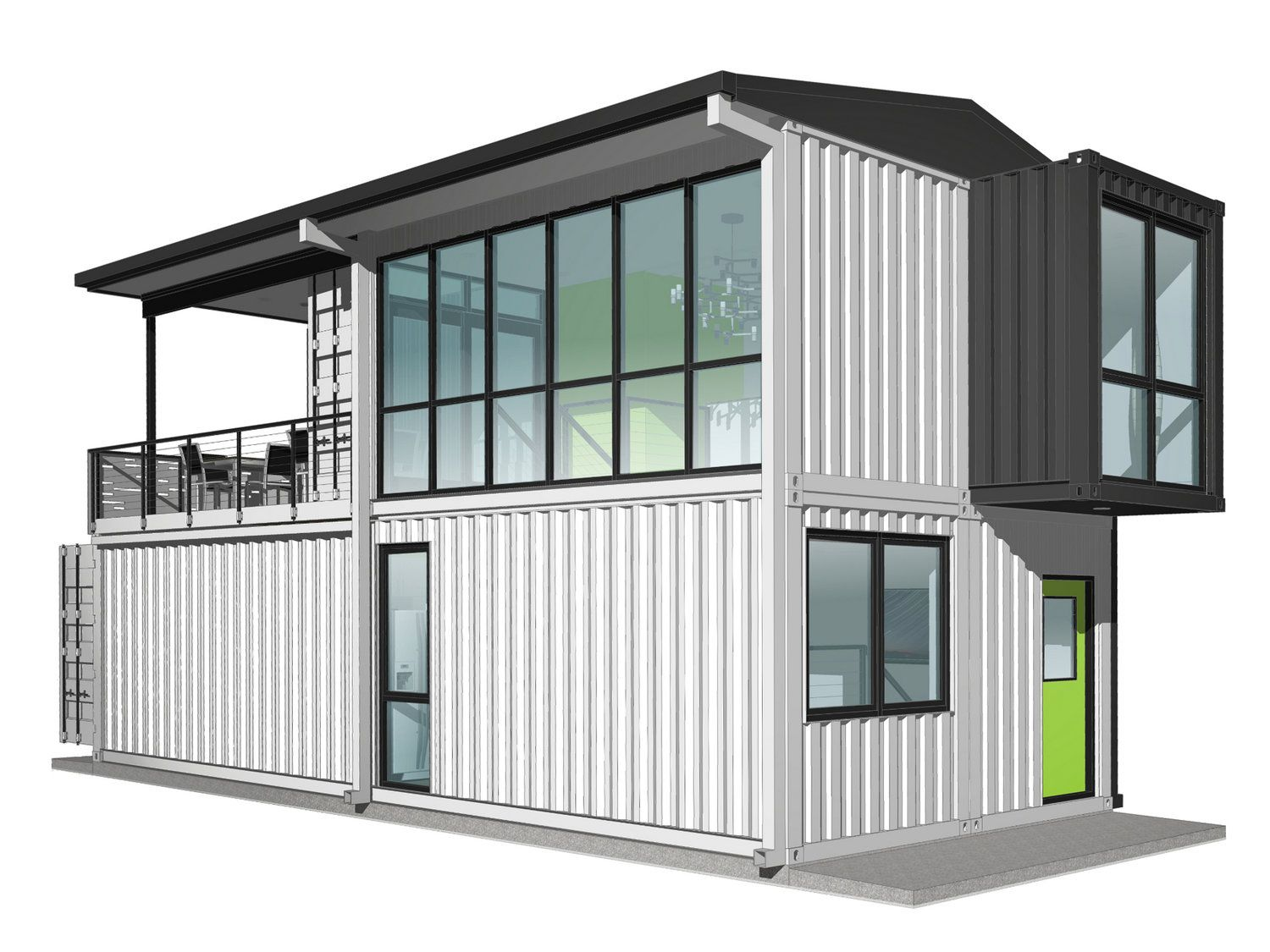 Foxworth Architecture - Container House 2 - Louisville, KY ...